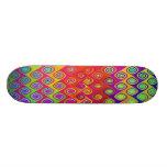 Color Splash Bright Skateboard