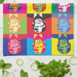 "Color Splash Donald Trump Kitchen Towel<br><div class=""desc"">Donald Trump kitchen towel full of colors! Red,  blue,  yellow,  pink,  green,  black and orange.</div>"