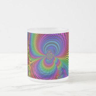 Color Splash Frosted Mug