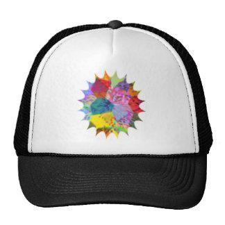 Color Splash Mesh Hat