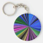 Color Splash Keychain