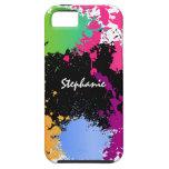 Color Splash Personalized iPhone 5 Cases