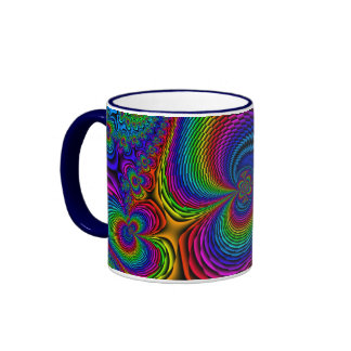 Color Splash Ringer Mug