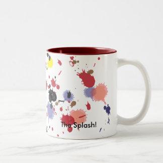 Color Splash, The Splash! Drinking Mug