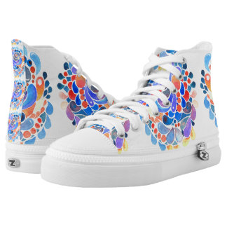 Color Splash Zip Z hightops High-Top Sneakers