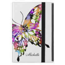 Color Splashed Butterfly Powis Case For iPad Mini