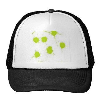 Color splashes design trucker hat