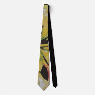 color splashes original abstract art design neck tie