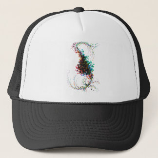 Color Splatter Twist Combo Trucker Hat