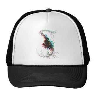 Color Splatter Twist Combo Trucker Hat