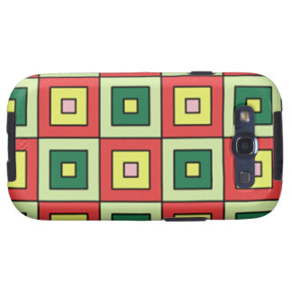 Color square iphone samsung galaxy SIII cover