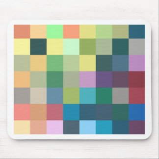 color squares background abstract geometric patter mouse pad