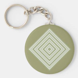 COLOR SQUARES custom key chain