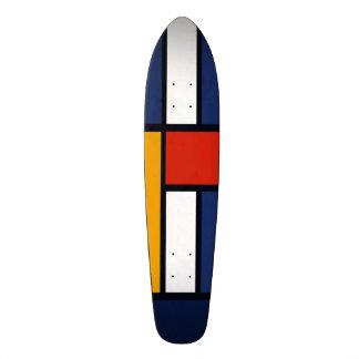 Color Squares Skateboard Deck