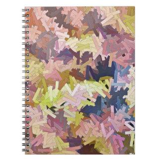 Color Stacks Messenger Notebook