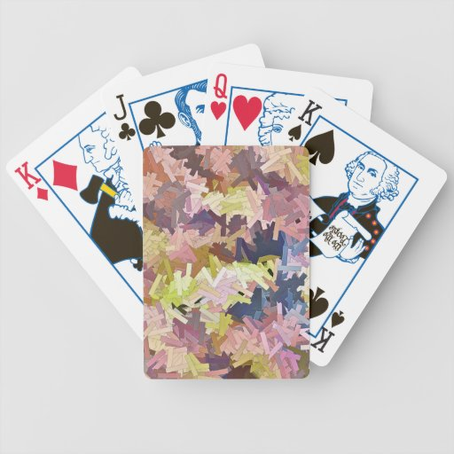 Colors poker cards