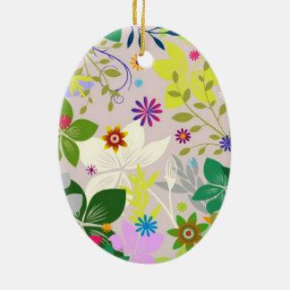 color standard ceramic ornament