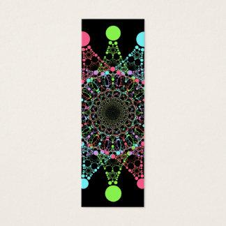 Color Star Mini Bookmark Mini Business Card