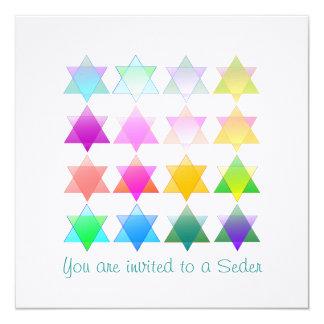 Color Stars Shalom Card