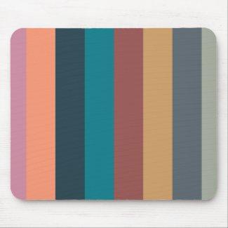 color stripes colorful pastel 001 mouse pad