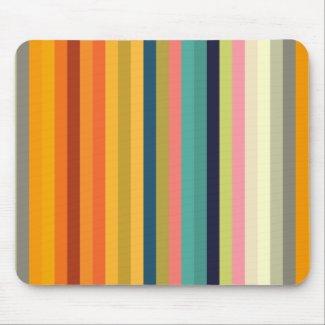 color stripes colorful pastel 002 mouse pad