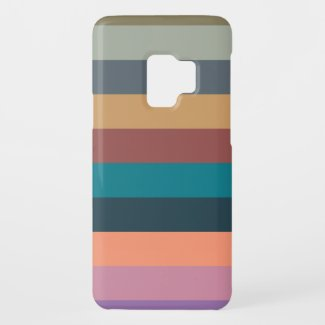 color stripes colorful pastel Case-Mate samsung galaxy s9 case