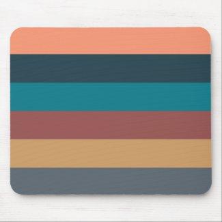 color stripes colorful pastel mouse pad
