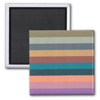 color stripes in colorful pastel magnet