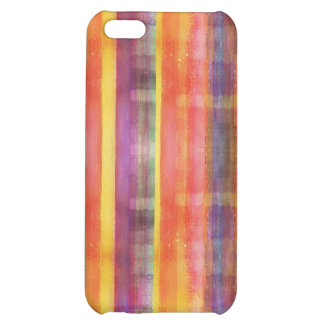 Color Stripes Pattern Case For iPhone 5C