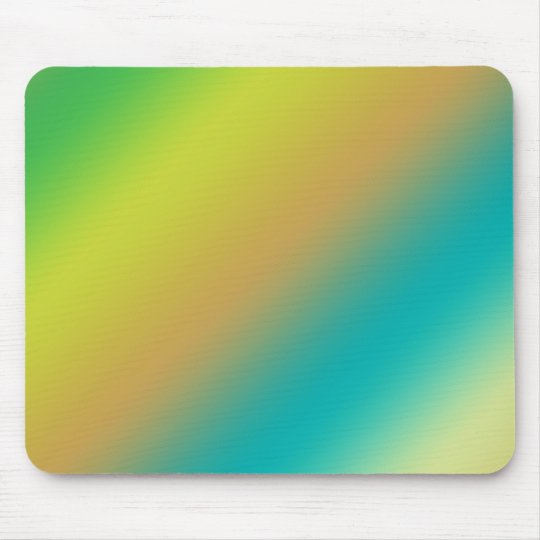 color strips, blue, yellow and green mouse pad