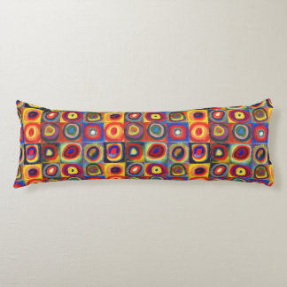 Color Study by Wassily Kandinsky Body Pillow