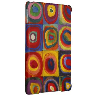 Color Study of Squares Circles by Kandinsky iPad Air Covers