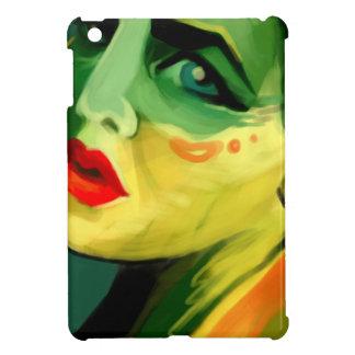 Color Study Painted Beauty Portrait Ipad Mini Case