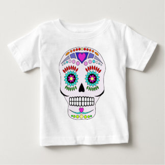 Color Sugar Skull Shirt