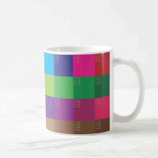 COLOR SWATCH COFFEE MUG