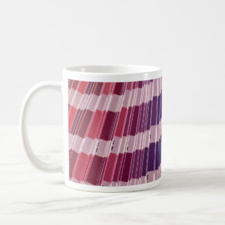 Color swatches mugs