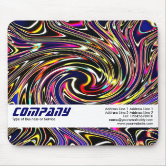 Color Swirl, Business Mouse Pad