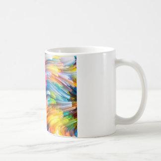 Color Swirl Design Coffee Mug