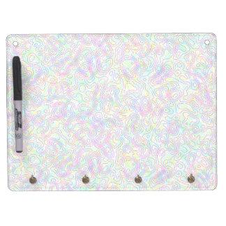 Color Swirl Dry Erase Board