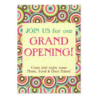 Color Swirl Invitation