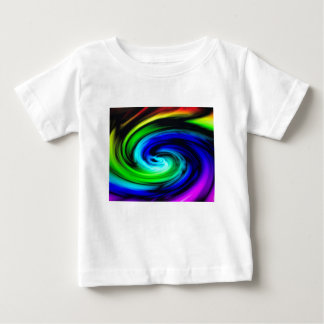 color swirl pattern baby T-Shirt