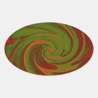 Color Swirl Stickers