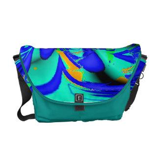 color swirls a3 messenger bag
