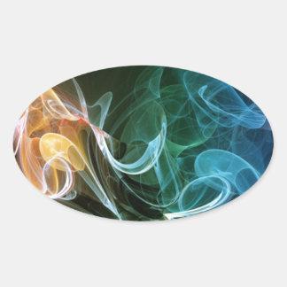 Color Swirls Sticker