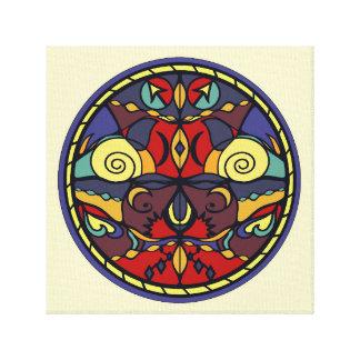 Color Symmetry Wall Art Canvas Print