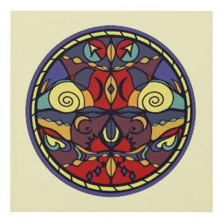 Color Symmetry Wall Art Panel