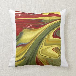 Color Symphony   Throw Pillow , American MoJo