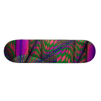 Color Synthesis Skateboard by CricketDiane