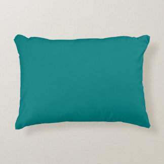 color teal accent pillow