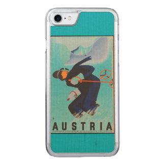 Color - teléfono del esquí de Austria Funda Para iPhone 7